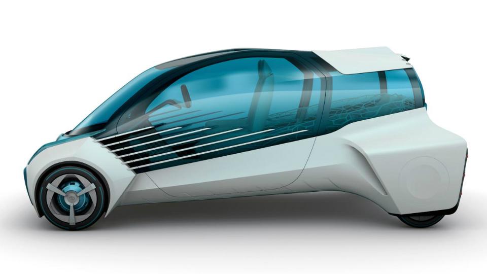 Японцы подготовили к моторшоу в Токио концепт-кар на топливных элементах