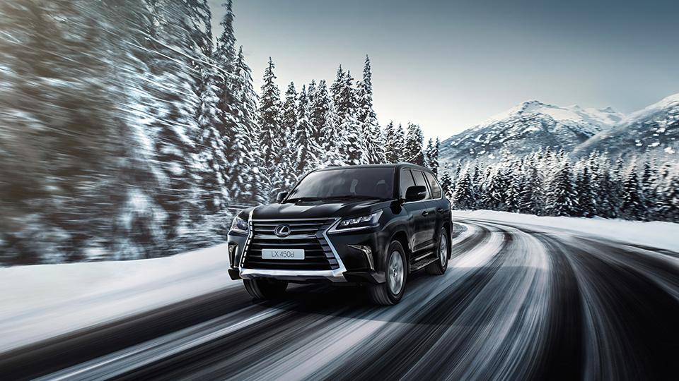 Самый большой внедорожник Lexus получил в РФ дизельный мотор