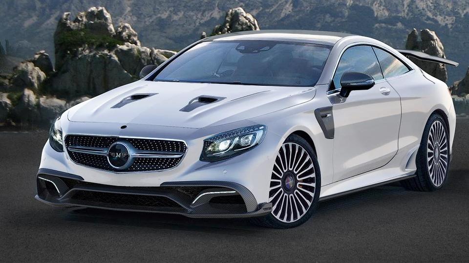 Ателье Mansory подготовило 1000-сильное купе Mercedes-Benz S 63 AMG