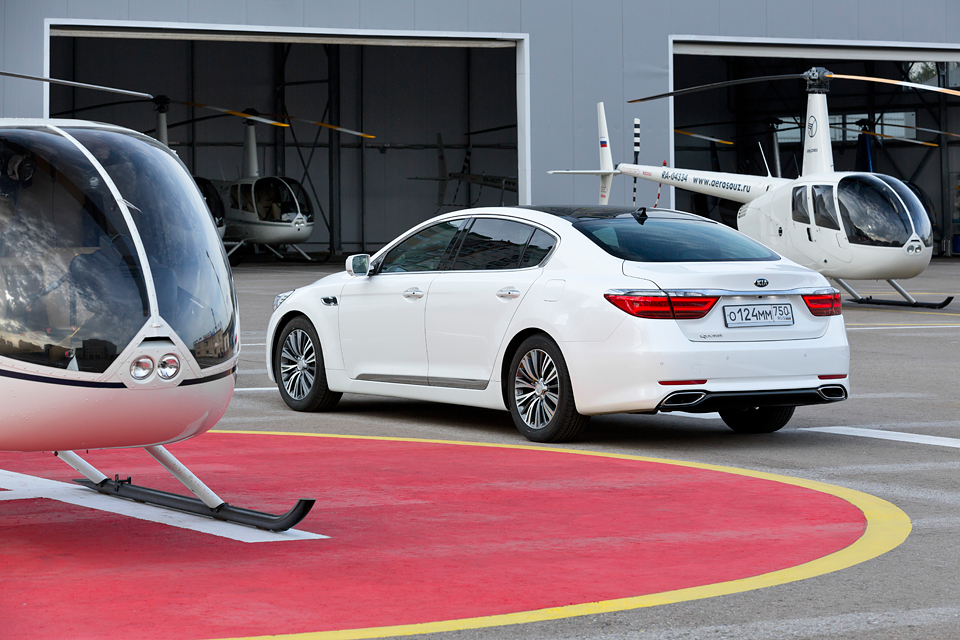 Три причины задуматься о покупке флагманского седана Kia. Фото 5