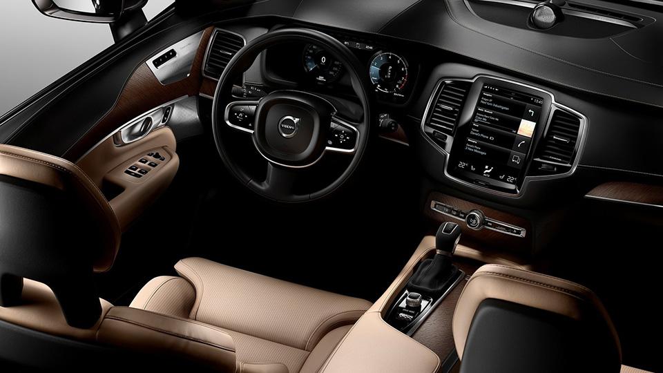 В Сеть попали фотографии салона седана Volvo S90