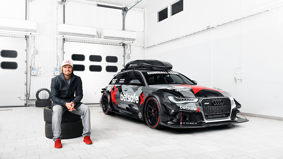 Преступники уничтожили бывшую машину горонолыжника Йона Олссона