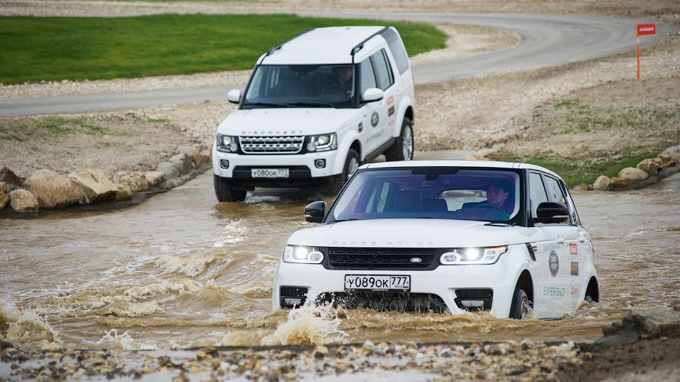 В Подмосковье открылся первый в мире полигон Jaguar Land Rover