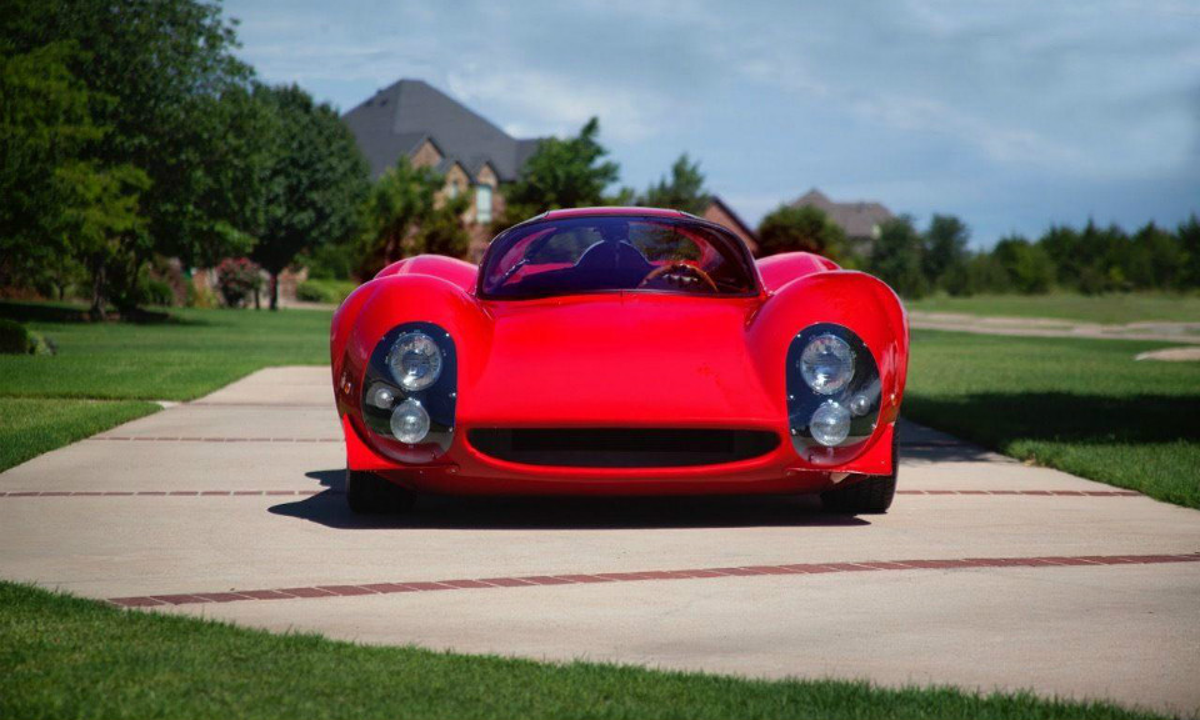 На интернет-аукционе появилось купе Ferrari Thomassima 1967 года выпуска. Фото 1