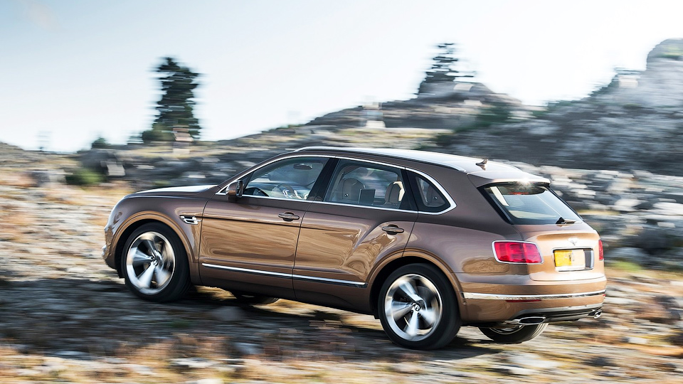 Bentley Bentayga оснастят дизелем с электронаддувом