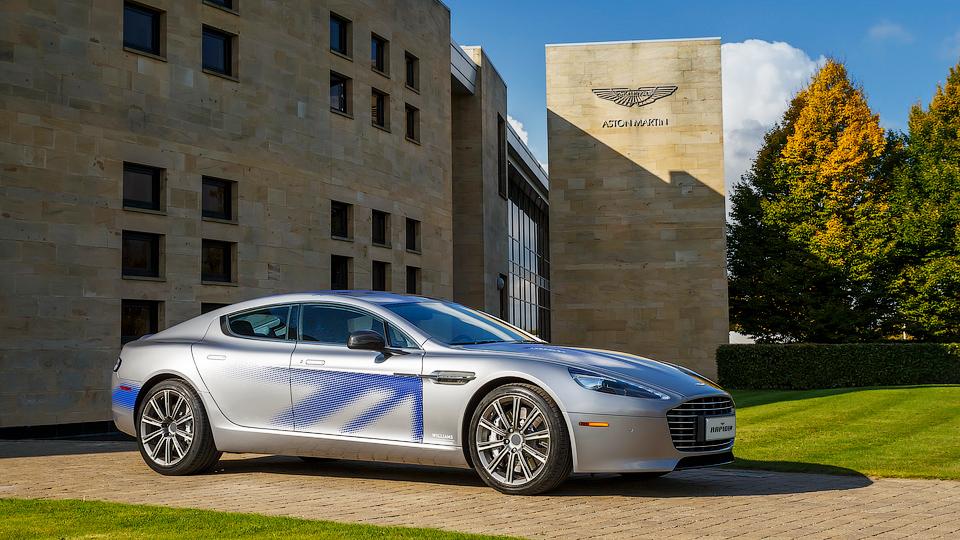 Aston Martin Rapide стал электрокаром