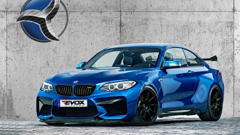 Для купе BMW M2 подготовили первый тюнинг