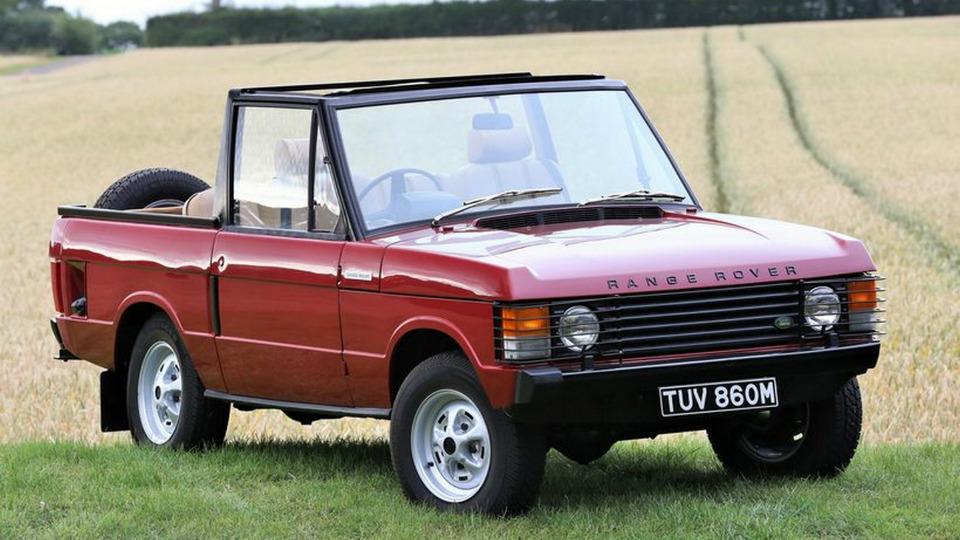 На аукционе продадут предка кабриолета-кроссовера Range Rover