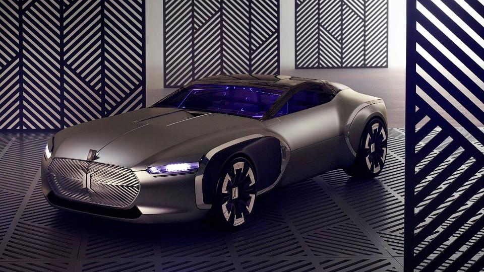 Компания Renault создала купе в честь знаменитого архитектора