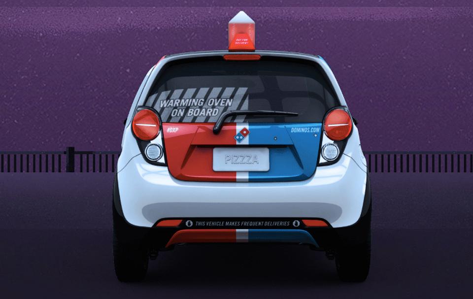 В США построили специальный автомобиль для доставки пиццы. Фото 2
