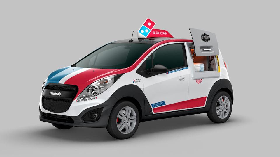 В США построили специальный автомобиль для доставки пиццы. Фото 1