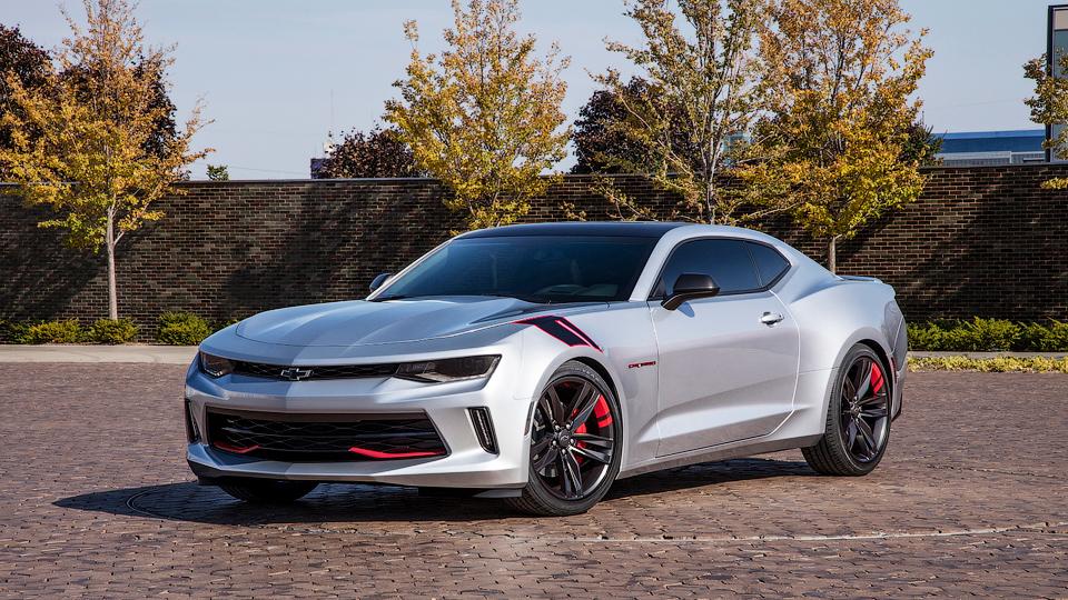 Компания Chevrolet показала линейку тюнинга для пяти моделей