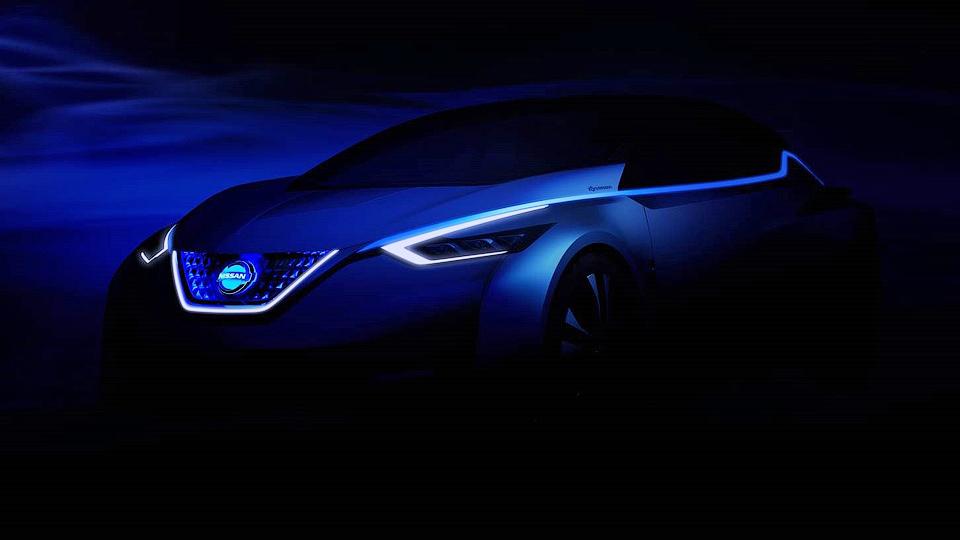 Nissan привезет в Токио прототип нового электрокара Leaf