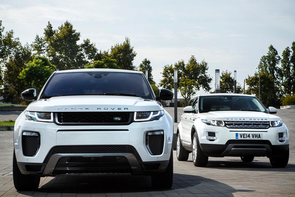 Как обновленный Range Rover Evoque привыкает купаться не в роскоши