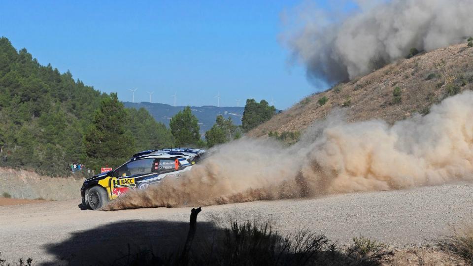 Миккельсен впервые в карьере выиграл этап WRC