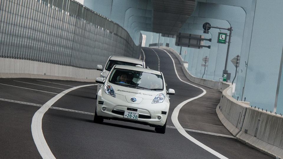 Электрокар Nissan Leaf оснастили «автопилотом»