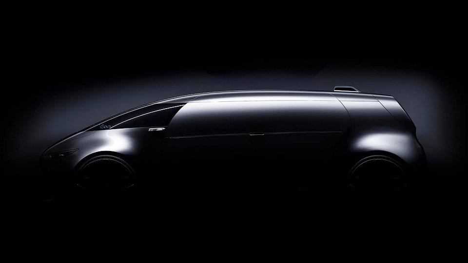 Mercedes-Benz построит беспилотный минивэн