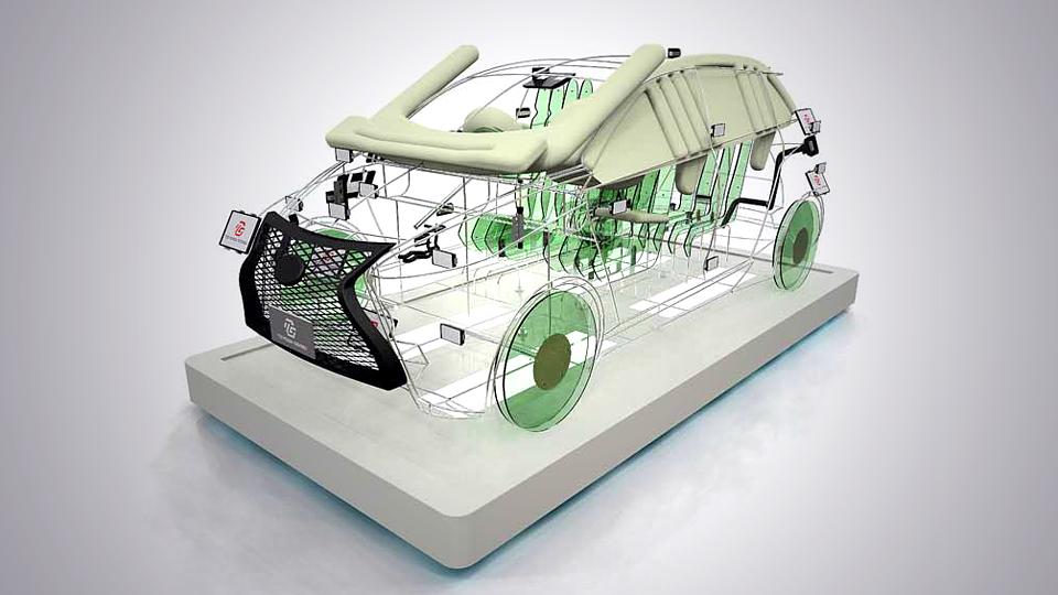 Компания представит на моторшоу безопасный для пешеходов прототип