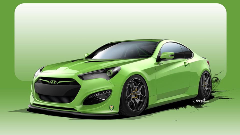 Компания Hyundai показала последнюю машину для SEMA