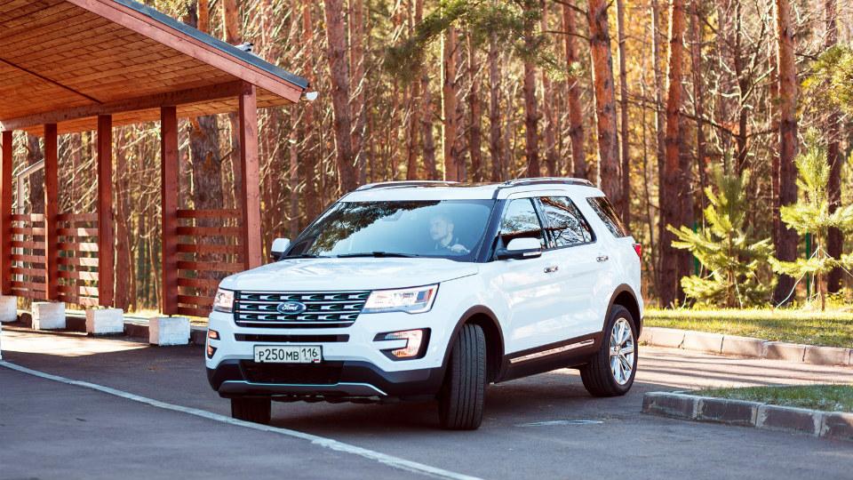 Объявлена российская стоимость обновленного Ford Explorer