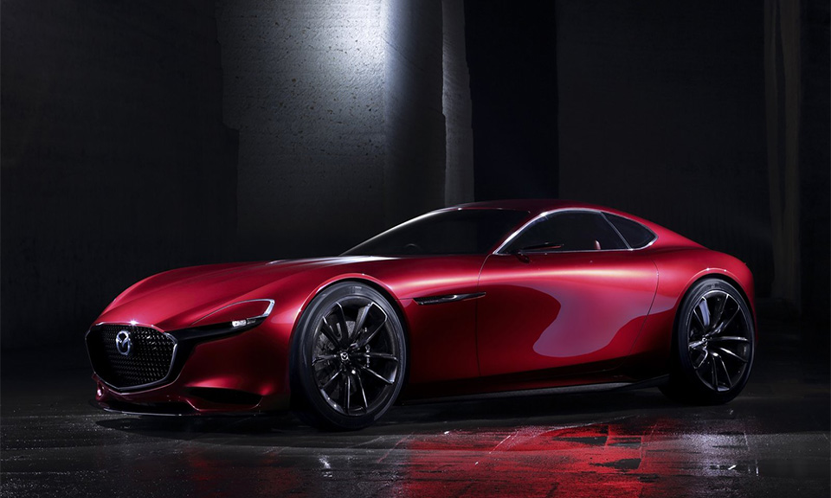 Mazda показала купе с роторным двигателем