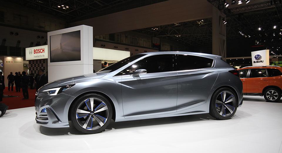 Компания Subaru показала новое дизайнерское направление