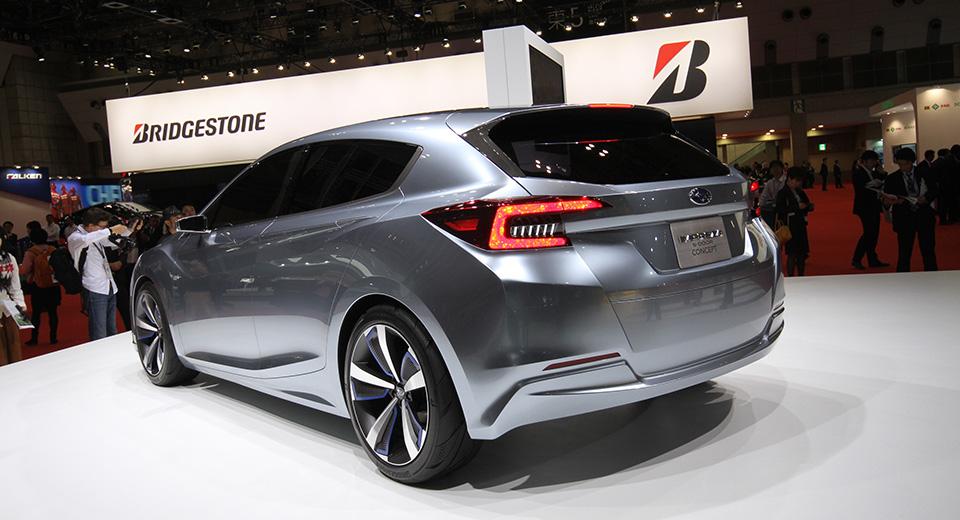 Компания Subaru показала новое дизайнерское направление. Фото 1