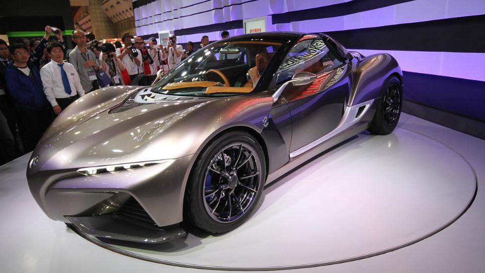 Yamaha создала прототип сверхлегкого спорткара