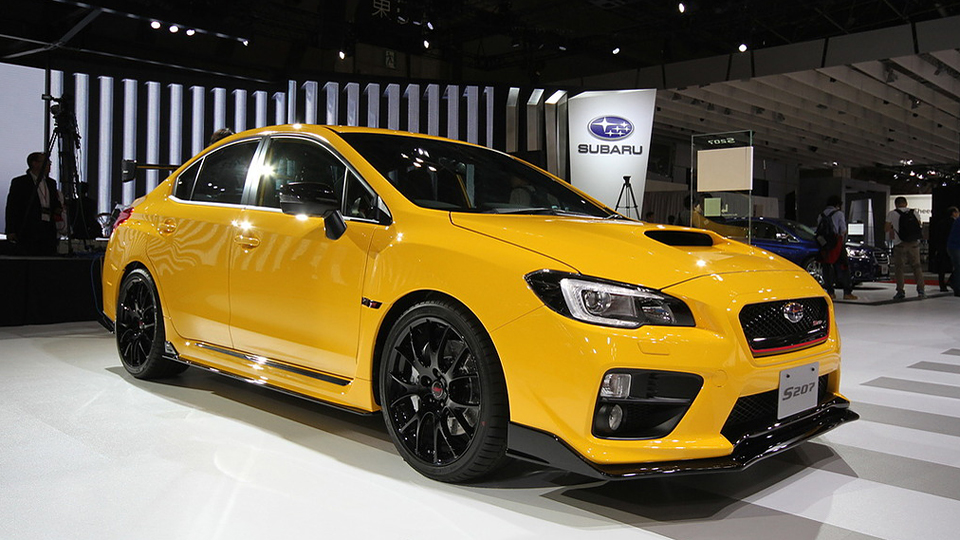 «Заряженному» седану Subaru WRX STI добавили мощности