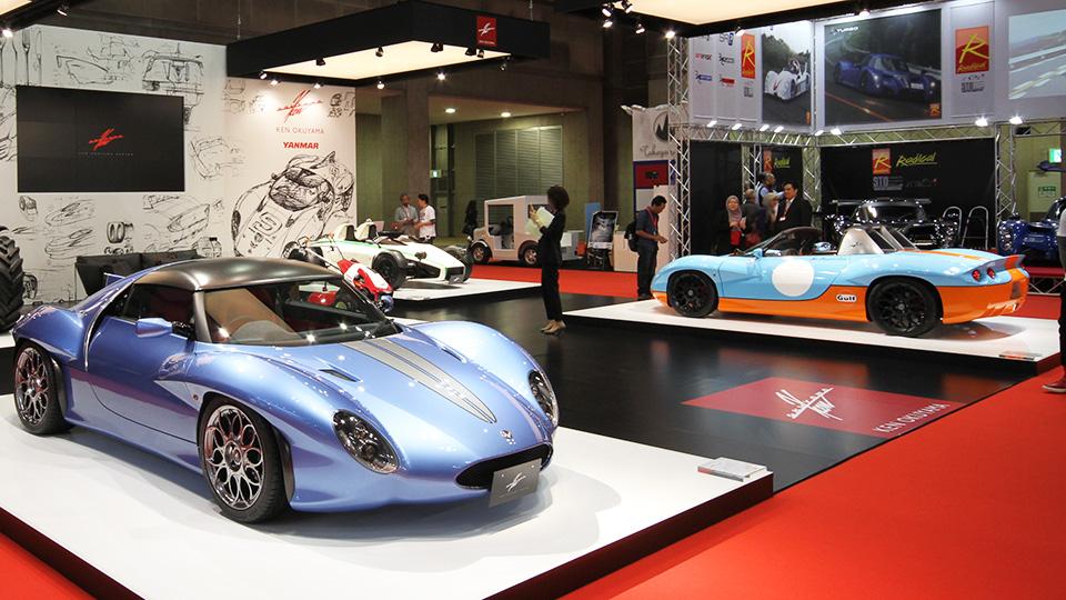 Создатель Ferrari Enzo привез в Токио три спорткара