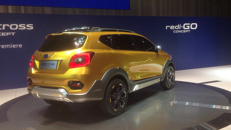 Бюджетный бренд Nissan показал прототип GO-Cross