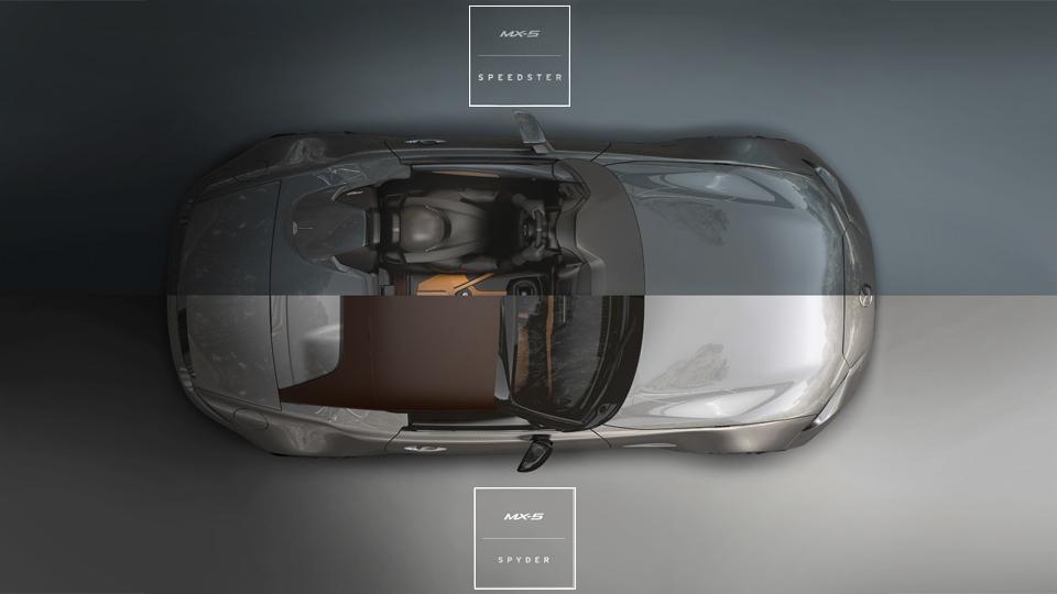 Mazda превратит MX-5 в спидстер и спайдер