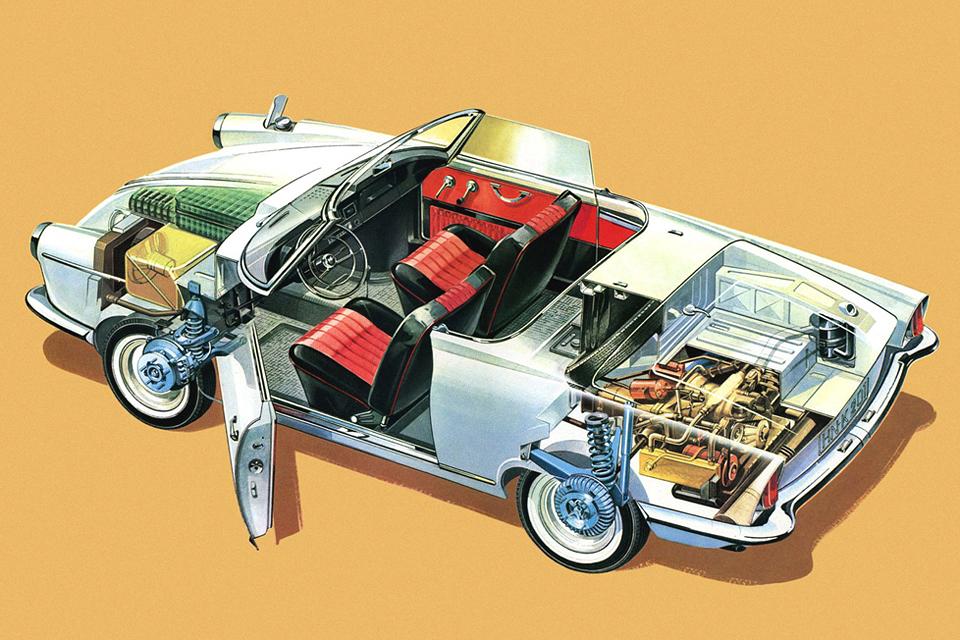 История роторных моторов Mazda. Фото 1