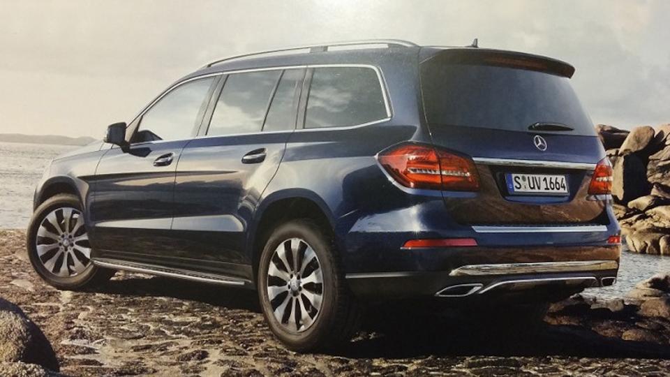 В Сеть попали фотографии преемника Mercedes-Benz GL