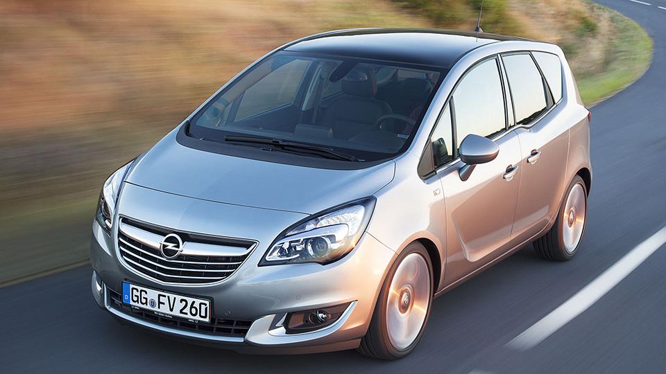 Opel отзовет в России девять тысяч компактвэнов Meriva