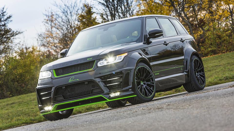 Ателье Lumma сделало «заряженный» Range Rover Sport еще мощнее