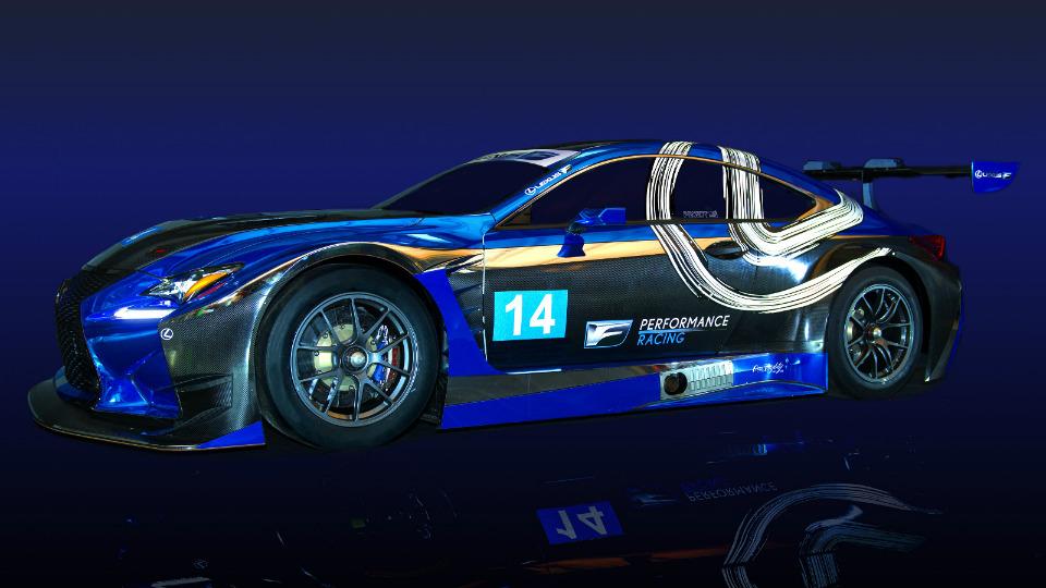 «Лексус» подготовил купе RC F к гонкам