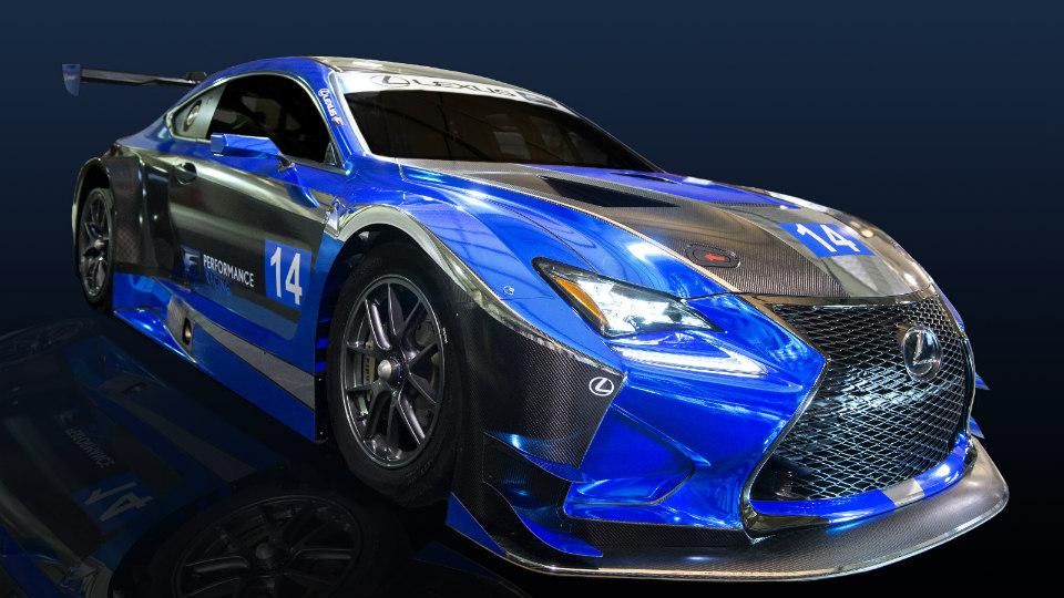 Lexus RC F примет участие в соревнованиях категории GT3