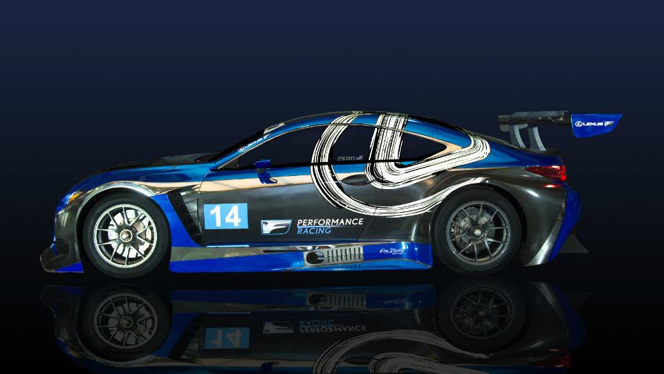 Lexus RC F примет участие в соревнованиях категории GT3. Фото 1