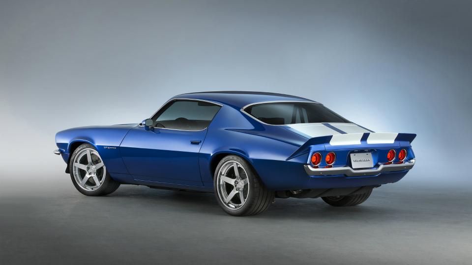 Купе 1970 года выпуска получило самый мощный двигатель General Motors. Фото 1