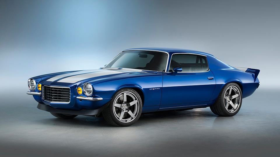 Классический Chevrolet Camaro укомплектовали 650-сильным мотором