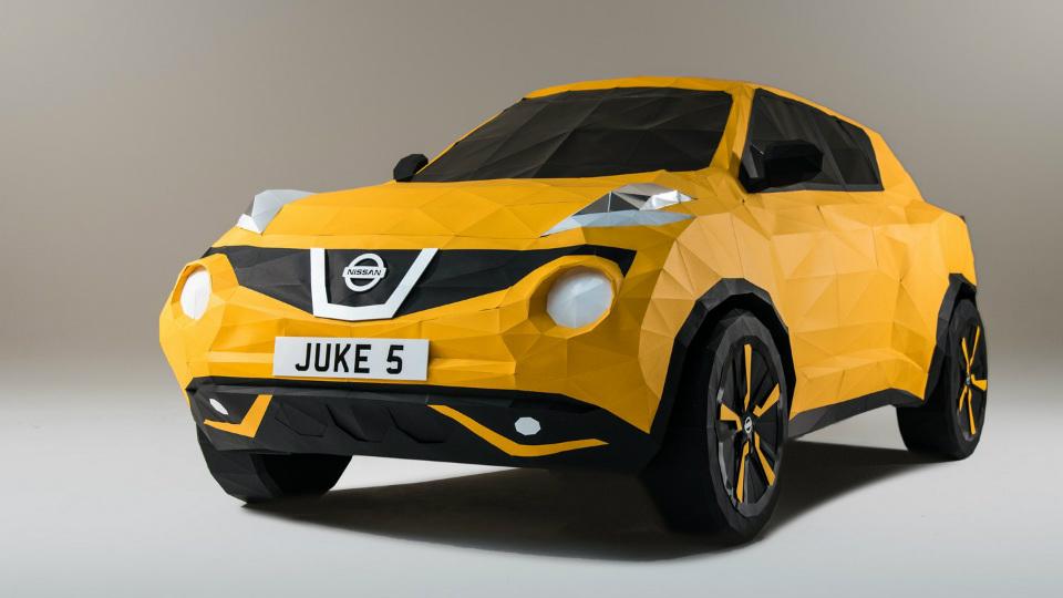 Nissan сделал бумажный Juke