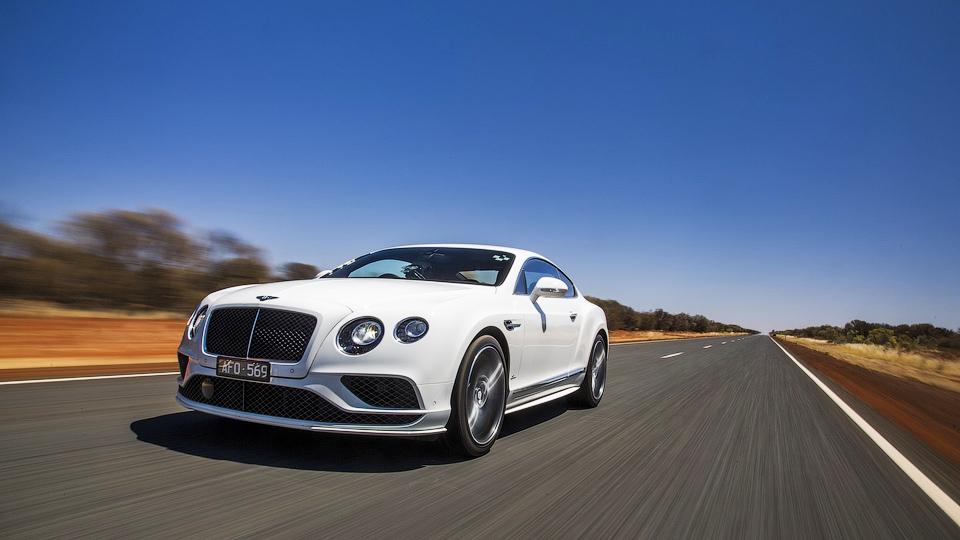 Самый быстрый Bentley разогнали до 331 километра в час
