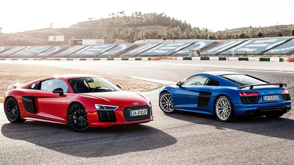 Audi R8 обзаведется пятицилиндровым мотором с электротурбиной