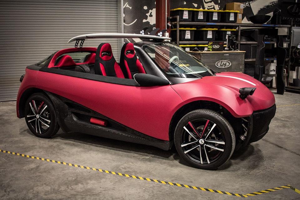 Самые интересные машины, напечатанные на 3D-принтерах. Фото 5