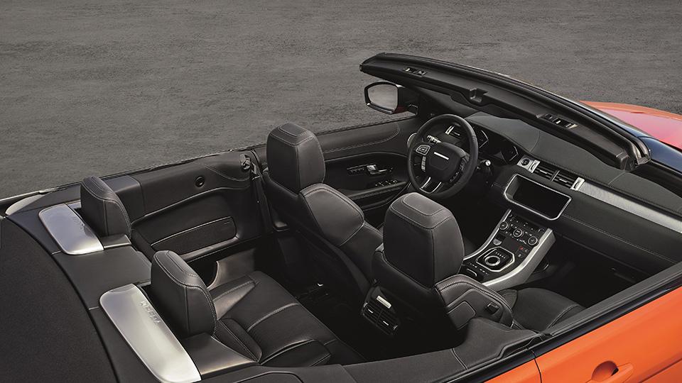 Британцы представили открытую версию кроссовера Range Rover Evoque. Фото 1