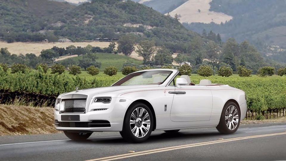 Первый Rolls-Royce Dawn в Северной Америке пустят с молотка