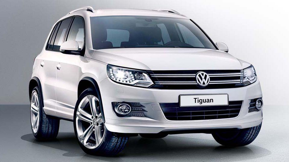 Российский Volkswagen Tiguan получил новую комплектацию
