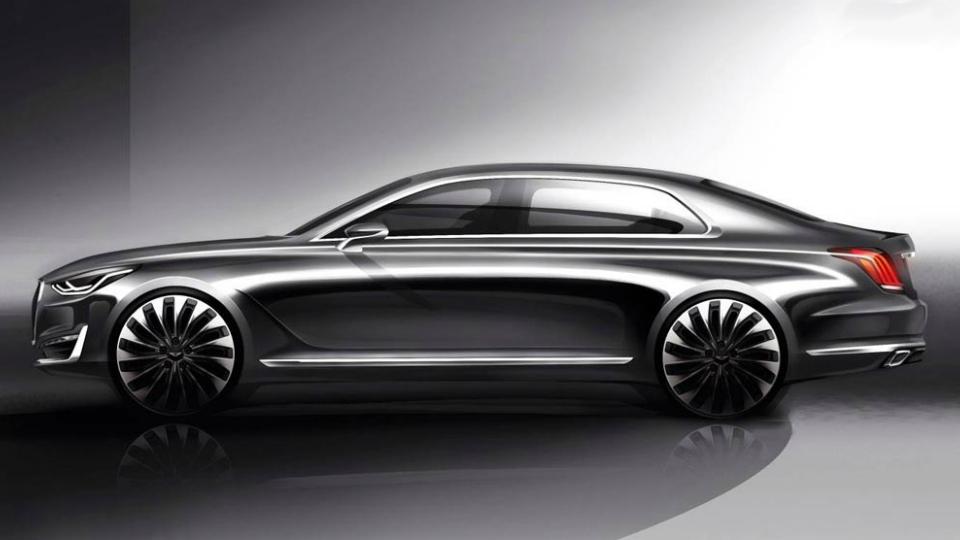 Новая флагманская модель будет называться Genesis G90