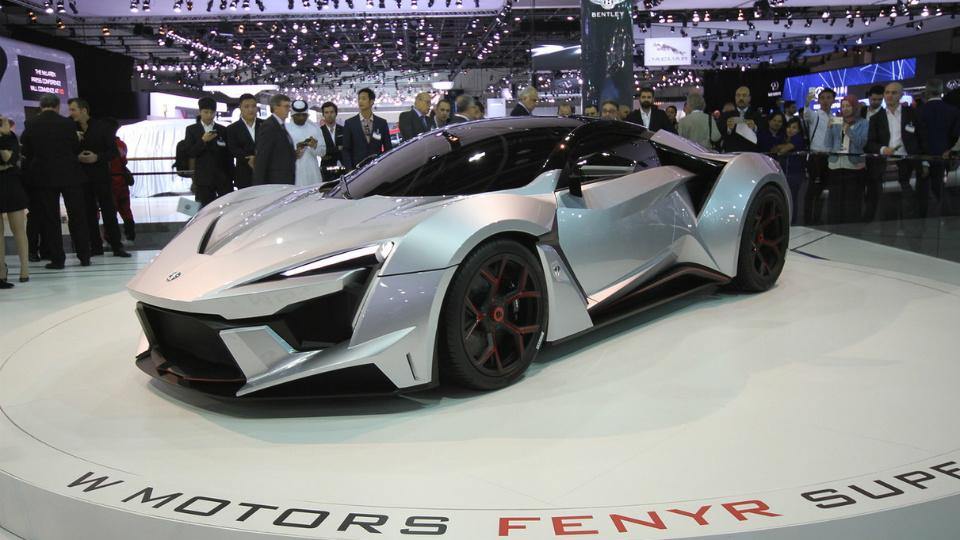 Второй арабский суперкар разгонится свыше 400 километров в час
